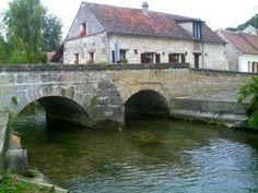 Pont habité,  rare en France - Pont à Clairoix Oise datant de 1642 - Vos plus beaux ponts de France