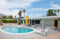 Mid Century Gem Pool Home in PS - vacation rental in Palm Springs, California. View more: #PalmSpringsCaliforniaVacationRentals