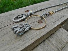 Keyring-Chain-Fine por EdcApparatus en Etsy