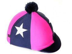 Pink Stars Carrots Equestrian Hat Cover- One Size Equestrian Fashion, Equestrian Style, Horse Riding Hats, Pink Stars, Carrots, Pony, Horses, Cover, Pony Horse