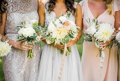 Bride's and Bridesmaids' Bouquets | Brides.com