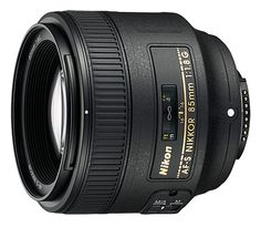 PRIME PORTRAIT LENS: NIKON 85MM F/1.8G Its large aperture of f/1.8 is great for low-light photography and the shallow depth of field helps isolate subjects from the background, beautifully rendering the background highlights, also known as bokeh. Works on both DX and FX.