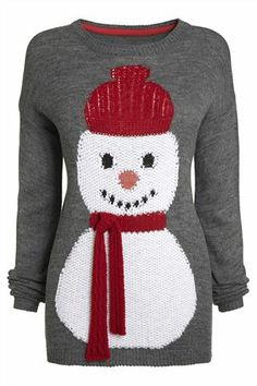 Fun Snowman Sweater