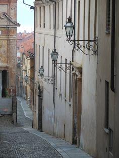Via della Chiesa, Saluzzo Piemonte Italy