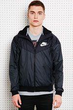 Nike Two-Tone Windrunner Jacket at Urban Outfitters Nike Jacket, Rain Jacket, Windrunner Jacket, Urban Outfitters, Sportswear, Cool Style, Windbreaker, Grey, Boys