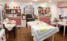 quilting room ideas | quilt room ideas