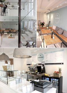 The yogurt shop, una yogurtería con diseño, packaging y decoración de estilo nórdico