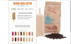 Blue Bottle Coffee flavored Bar Gelato. My new obsession.