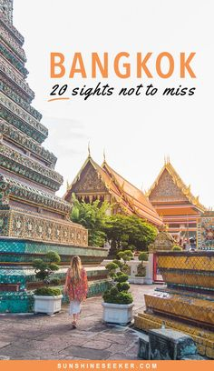 Top 20 things to do in Bangkok, Thailand. You won't want to miss these amazing attractions! travel Top 20 sights & attractions not to miss in Bangkok! Thailand Destinations, Thailand Vacation, Thailand Honeymoon, Thailand Travel Guide, Bangkok Travel, Asia Travel, Travel Destinations, Bangkok Trip, Bangkok Itinerary