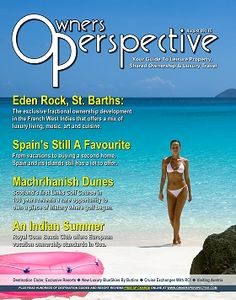 Owners Perspective Magazine: August 2009