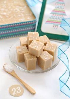 Gift This! 3 Minute 3 Ingredient Peanut Butter Fudge | Sprinkle Bakes