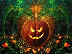 fractal halloween | de halloween tarjeta bruja en halloween bruja deseando feliz halloween