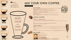 MIX YOUR OWN COFFEE