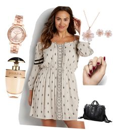 """Untitled #94"" by bosniamode ❤ liked on Polyvore featuring maurices, Michael Kors and Prada"
