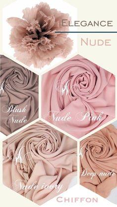 50 ideas style hijab chic colour for 2019 Hijab Style, Hijab Chic, Womens Fashion Online, Latest Fashion For Women, Nude Scarves, Mode Turban, Princesa Kate Middleton, Mode Rose, Mode Abaya