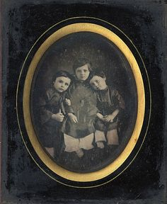 Three Children: 1850's