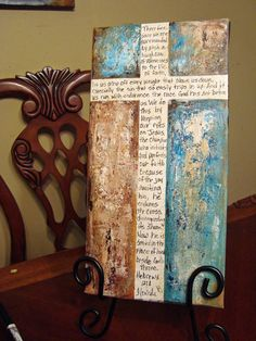 Scripture Art Hebrews 12...like the blank cross for verse surrounded by color
