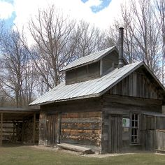 ... Farm Sugarhouse - This is a photograph I took at Chippewa Nature Center located roughly west-southwest of Midland in Midland County Michigan US. & Chippewa Nature Center - Homestead Farm Root Cellar - This is a root ...