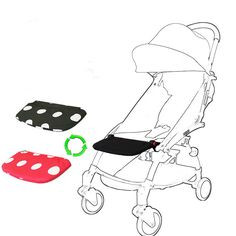2017 new baby stroller accessory footrest black 16cm longer general footboard for babytime yoya stroller baby sleep extend boar #Affiliate