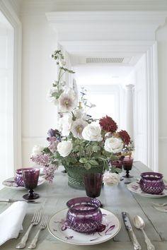 Carolyne Roehm, Vladimir Kanevsky porcelain flowers