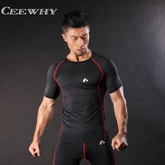 >> Click to Buy << CEEWHY Striped Funny T Shirts Compression Shirt Dragon Ball T Shirt Men Fitness Clothing Brand Clothing Men Crossfit Tops Tees #Affiliate
