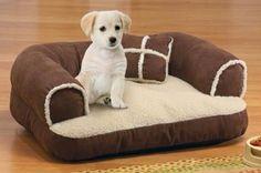 cama para perros en forma de sofa chico, cachorro, gato