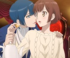 grafika anime, dance with devils, and roen