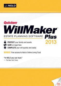 Quicken WillMaker Plus 2013 [Download] --- http://www.amazon.com/Quicken-WillMaker-Plus-2013-Download/dp/B00905OA6Q/ref=sr_1_9/?tag=telexintertel-20