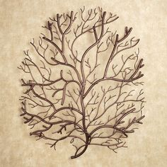 Tree Metal Wall Art Home Decor Sculpture Branches