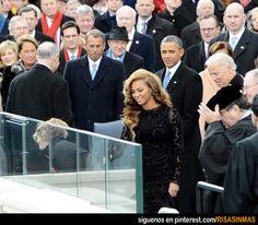 Beyoncé llamá la atención del Presidente. Y no sólo la atención de Obama.