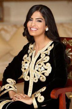 Saudi Arabian princess and activist for women's rights- Princess Ameera Al Taweel