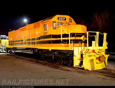 RailPictures.Net Photo: NECR 3317 New England Central EMD SD40T-2 at St. Albans, Vermont by Kevin Burkholder