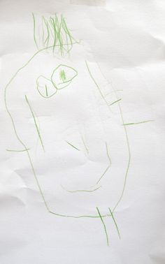 Gille, figure, age 4, 2014