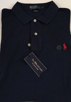 Polo By Ralph Lauren Men's Polo Short Sleeve The Mesh Shirt XL Navy NEW NWT   #PoloRalphLauren #PoloRugby