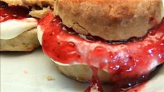 scones for st georges day