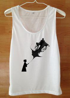 Spell Tank top Harry Potter Shirt Custom Handmade Screen Print Funny White harry potter Clothing Women Tee harry potter Tshirt Shirt S M L