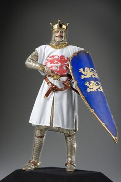 Full length color image of William the Conqueror aka. William the Bastard, by George Stuart.