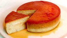 Solo LATTE UOVA E BANANE, SENZA FORNO, SENZA FARINA! #408 - YouTube Flan Dessert, Custard Desserts, Custard Cake, No Cook Desserts, Easy Desserts, Delicious Desserts, Cooking Cake, Easy Cooking, Baking Recipes