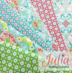 Julia Swafing-Paket 12 x 0,5m Vorbestellung!  von Stoffalm auf DaWanda.com