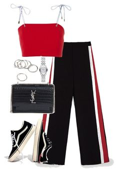 """Untitled #4979"" by theeuropeancloset on Polyvore featuring nk, Yves Saint Laurent, Madewell, Forever 21 and Gucci"