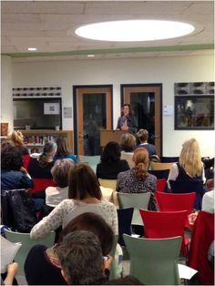 Dr, Roni Cohen-Sandler at the Grace Church School Parents Association
