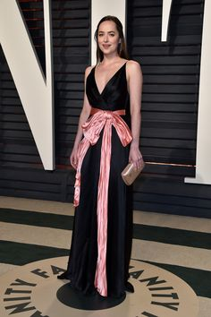 Dakota Johnson by Gucci - PostParty Oscars 2017