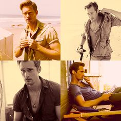 If only to be stranded on a deserted island with him...