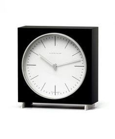 ユンハンス マックスビル 363/2212 00 置き時計 JUNGHANS table clock