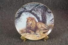 African Shade Big Cats Of The World Collector Plate C. Big Cats Art, Cat Art, Hamilton, Decorative Plates, African