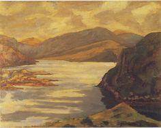 Loch Scene on the Duke of Sutherland's Estate