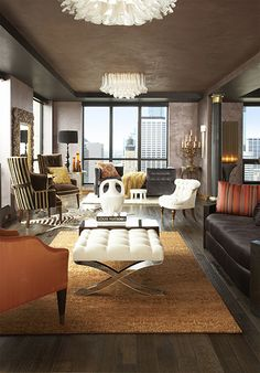 Minneapolis penthouse on the cover of Minneapolis St Paul Magazine.
