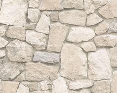 Dekora Natur 6 tapeta ścienna AS Creation Stone Wallpaper, View Wallpaper, Pattern Wallpaper, Tiles Texture, Stone Texture, Wallpaper Direct, Wallpaper Online, Tapete Beige, Interior Cladding