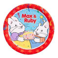 Max & Ruby theme plates