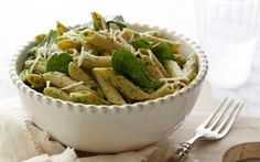 Penne with Spinach Sauce Recipe by Giada De Laurentiis